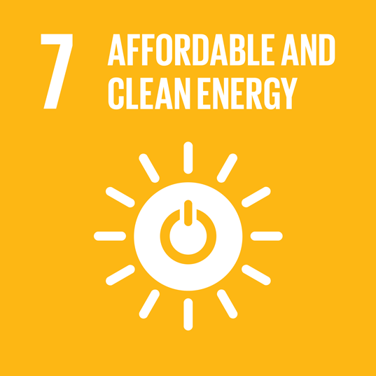 SDG no. 7 Affordable and clean energy