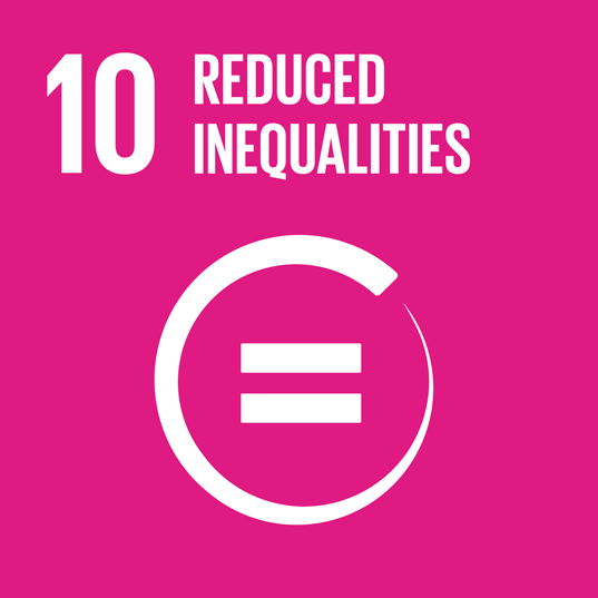 SDG no. 10 Reduced Inequalities