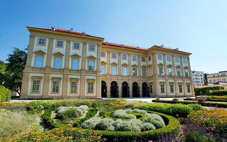 The Gartenpalais Liechtenstein houses the Princely Collections.