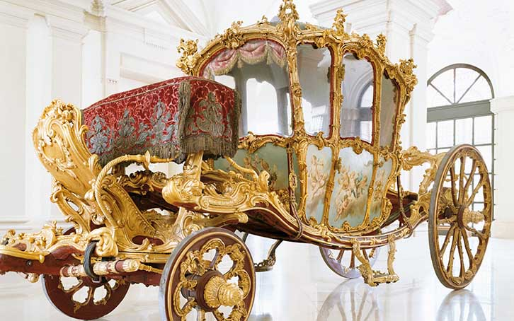The «Golden Carriage» in the Gartenpalais Liechtenstein