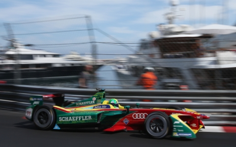 Lucas di Grassi on podium again in Monaco