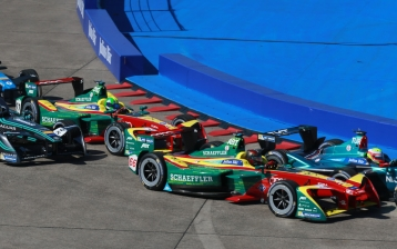 ABT Schaeffler Audi Sport champions Lucas di Grassi and Daniel Abt race for success in Berlin.