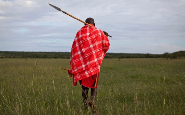 Maasai in the Mara Naboisho Conservancy
