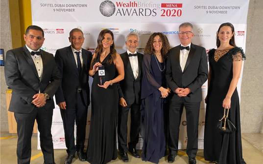 WealthBriefing MENA Awards, LGT Middle East